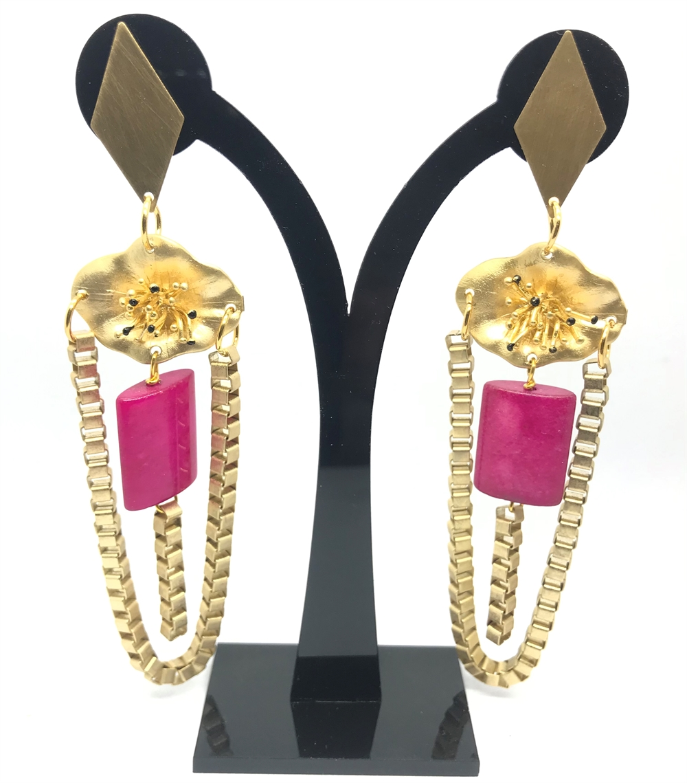 PENDULUM LIMITED COLL - chain pink stone
